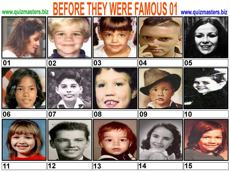 Famous Faces Quiz Pdf Download