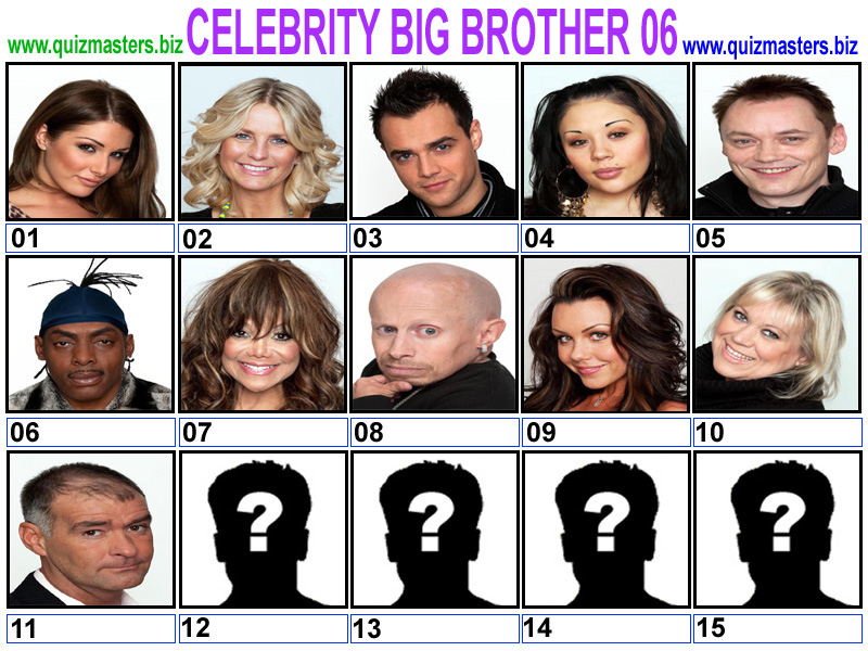 All Americans that have been on Celebrity Big Brother UK ...