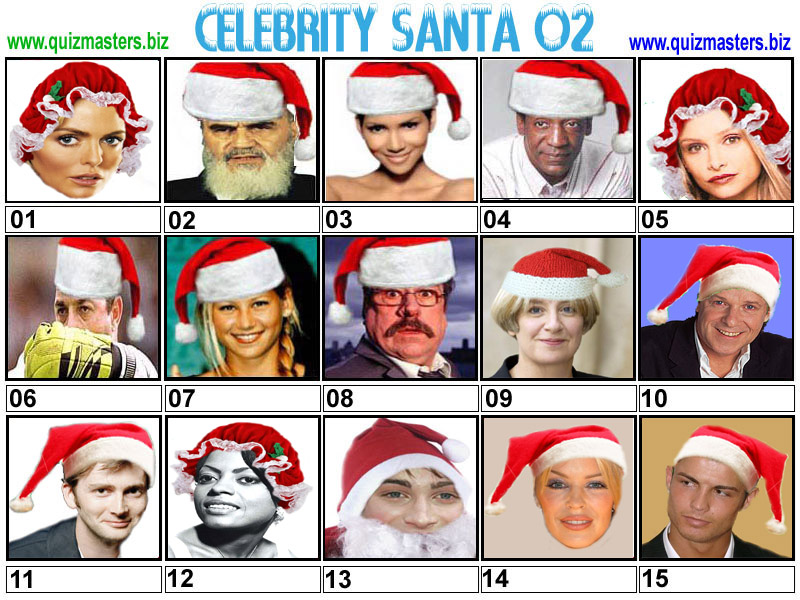 The ultimate secret Santa celebrity Christmas quiz | Metro ...