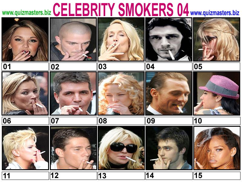 Celeb Smokers