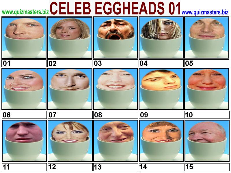 Celeb Eggheads