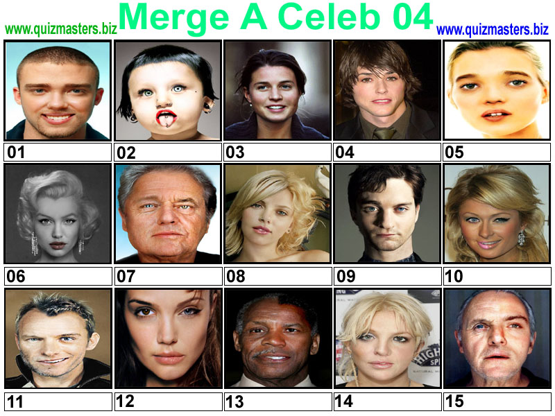 Celebrity Face Merge Pictures, Images & Photos | Photobucket
