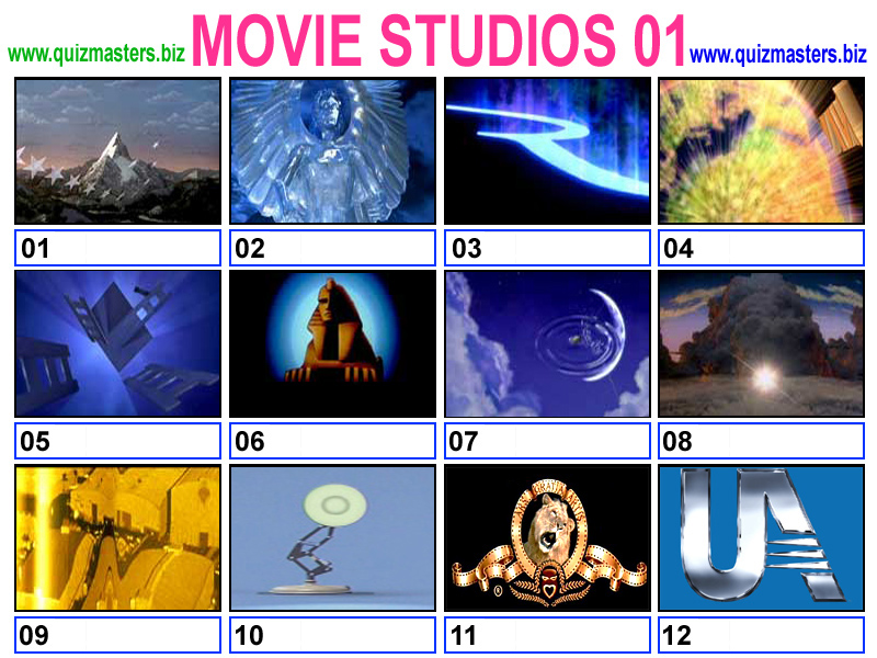 Image Gallery Old Movie Studio Logos
