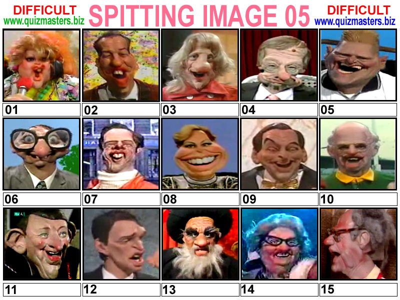 Spitting Image (Famous Latex Faces From This Classic Tv Show)