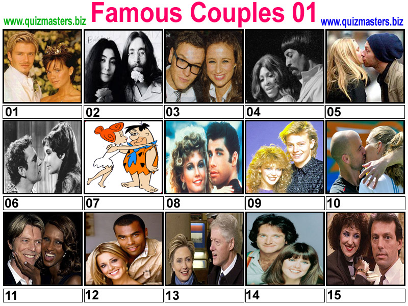 Pictures of famous couples 8